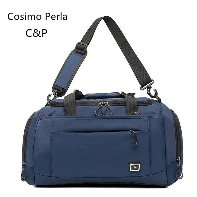 Women oxford duffle bag short trip overnight travel shoulder bag designer fitness Hand luggage with shoe pocket sports big totes