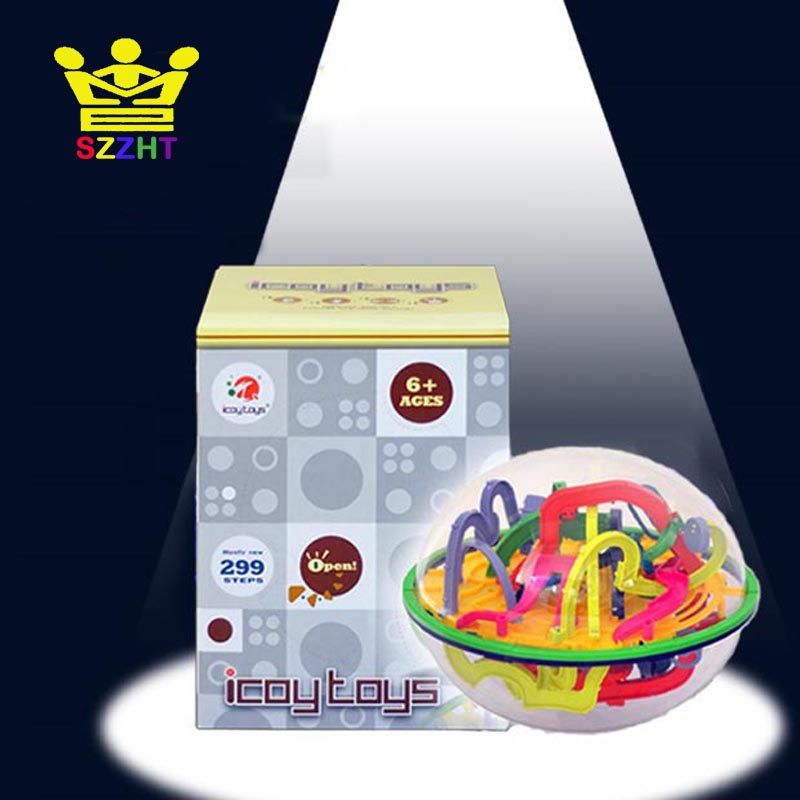 299 Barriers 3D Puzzle Labyrinth Ball Maze Perplexus Ball Magical Intellect Maze Ball Intelligence Educational Toys For Children