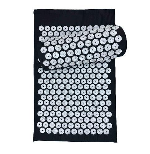 Spike Yoga Mat With Pillow Massage Cushion Acupressure Mat