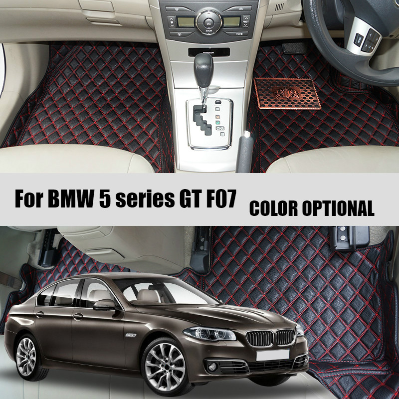 Car Floor Mat carpet pad For BMW 5 series F10 2010-2013 2014-2016 / 5 series GT F07 2010-2015 Auto accessories car styling