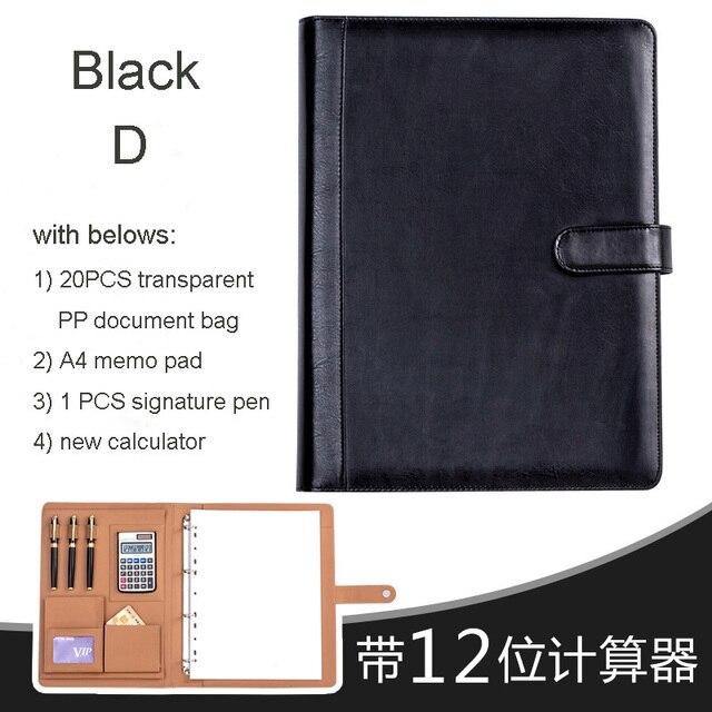 Exkshen Business Buch A4 Papier Dateiordner Tasche Buro Schreibwaren