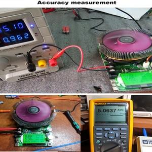 Image 5 - 150W Digital battery capacity tester voltmeter adjustable constant current electronic load charger usb ameter meter indicator