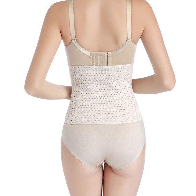 Women Waist Trainer Belt Sweat Girdle Tummy Shapewear Slimming Belts Postpartum Belly Shapers Corset Body Shaper Modeling Strap 4