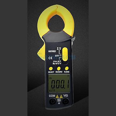 VC6056D Digital Clamp Meter AC/DC Volt Resistance Capacitance Freq Tester Multimeter Auto Range vc6056d digital ac dc clamp meter 600a refrigerant special