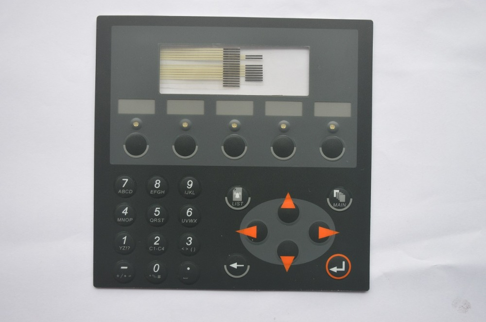 Membrane Keypad Switch for Beijer E200 Beijer MAC/MTA E200 Type: 02800B 02800C Keyboard for Beijer E200,FAST SHIPPING