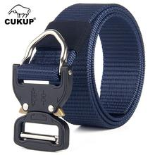 CUKUP Unisex Cobra Tactical Multifunctional Military Fan Outdoor Belt Special Soldier Training Nylon Camouflage Belts CBCK107