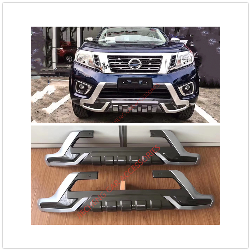 Us 62 4 20 Off Top Quality Np300 Navara Accessories 4x4 Front Bumper Cover Covers Fit For Nissian Navara Np300 2015 2018 Pickup Car Bumper In