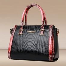 Luxury Desinger Handbag Fashion Women's Shoulder bag High Quality PU Leather Alligator Casual Tote Bag Ladies Messenger bag