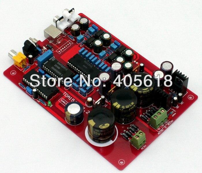 New TDA1541+SAA7220+CS8412+NE5534 Fiber coaxial USB PCM2704 DAC assembled board assembled fiber coaxial usb dac decoding amp board diy amp board