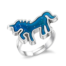 Color Changing Resizable Unicorn Ring