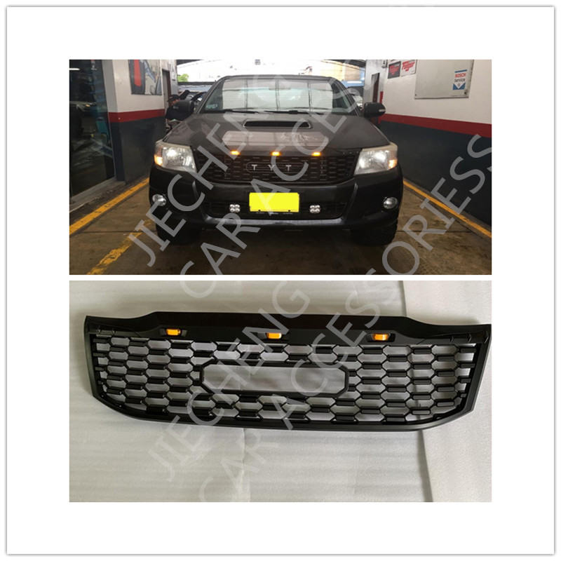 AUTO EXTERIOR PART MODIFIED FRONT ABS MESH MASK TRIMS COVER RACING GRILLE GRILLS FIT FOR HILUX VIGO 2012-2014 GRILL PICKUP CARAUTO EXTERIOR PART MODIFIED FRONT ABS MESH MASK TRIMS COVER RACING GRILLE GRILLS FIT FOR HILUX VIGO 2012-2014 GRILL PICKUP CAR