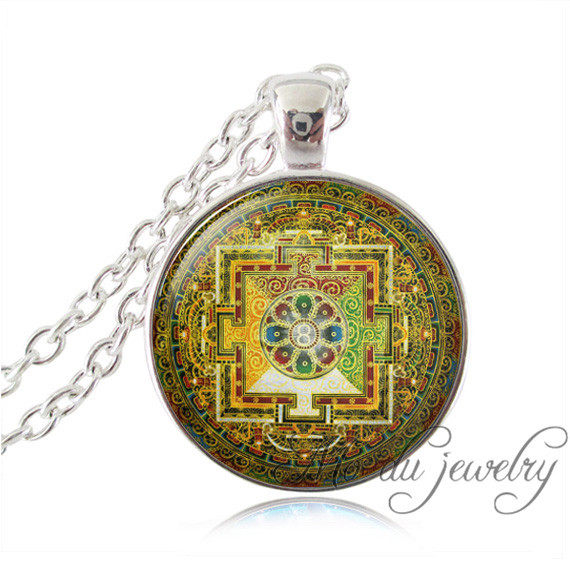 Online shop christian jewelry stained glass notre dame de paris christian jewelry stained glass notre dame de paris pendant picture stained glass necklace for women men gothic style religious aloadofball Images