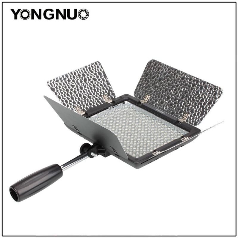Yongnuo YN300 YN-300 3200k-5500K CRI95 Camera Photo LED Video Light Optional With AC Power Adapte