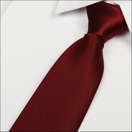 SHENNAIWEI 2016 New 8cm Wine Red Silk Tie Men's Microfiber Neckties Fashion Gravata Slim Striped Dark Red Neck Ties Atacado