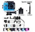SJ4000 Действий Камеры Дайвинг 30 М Водонепроницаемый 1080 P Full HD Шлем Go Pro hero3 стиль Камеры Спорт DV + аккумулятор + монопод бесплатная доставка
