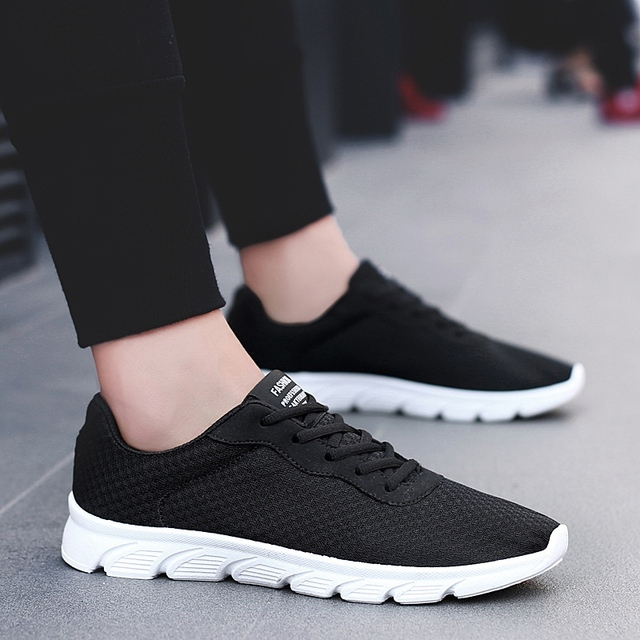 77d0e8e7a69a8 HEINRICH 2018 marca zapatos casuales zapatos de los hombres negro cierto  adulto zapato de tenis salones