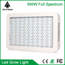 Wholesale 100leds 300W Hydroponic Full spectrum LED Grow Light for planting indoor vegetable grow light aquarium led lighting