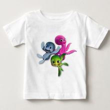 2018 cartoons Printed Tshirts for children t-shirts boys and girls T-shirts sammys adventures summer tshirt baby boy kids