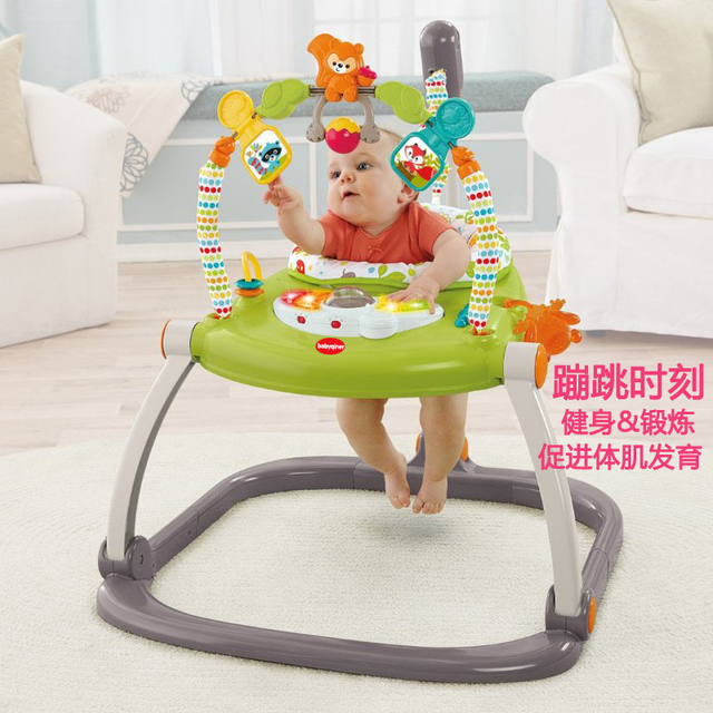 walker bouncing chair burlap dining room covers rainforest jumperoo baby bouncer rocking jumper activity center swing