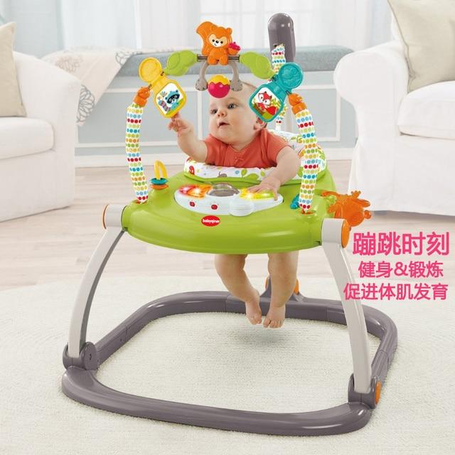 Rainforest Jumperoo Baby Bouncer Rocking Chair Jumper Activity Center Swing