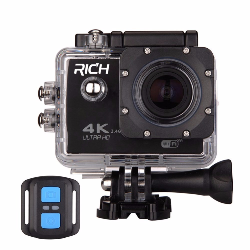 60 F60R 4K Wifi Action Camera 16MP 170D Sport DV 30M Go Waterproof Pro Extreme Sports Video Bike Helmet Car Cam Dvr goldfox h9 ultra hd 4k action camera 170d wifi sport camera dv 30m underwater cam go waterproof pro bike helmet car camera dvr