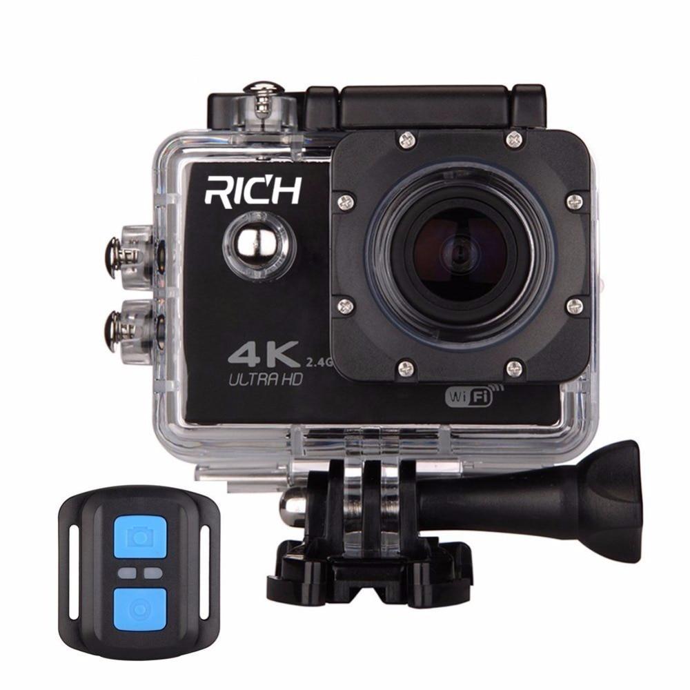 60 F60R 4K Wifi Action Camera 16MP 170D Sport DV 30M Go Waterproof Pro Extreme Sports Video Bike Helmet Car Cam Dvr