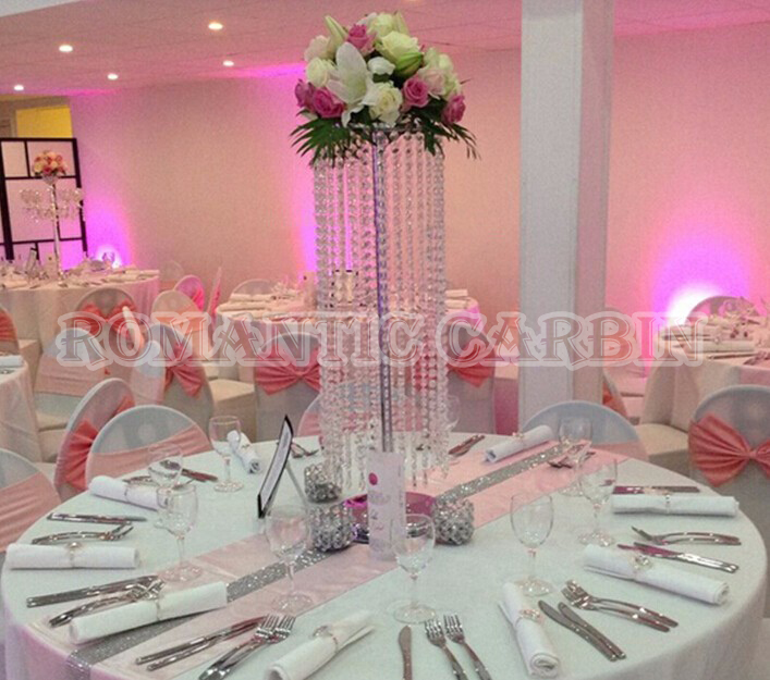 70cm Tall Wedding Crystal Centerpiece Table Centerpiece