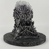 17cm Game Of Thrones Action Figure Toys Sword Chair Model Toy Song Of Ice And Fire