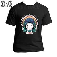 Japanese Anime Spirit Away print Shirt Man Studio Ghibli Miyazaki Hayao Anime t shirt Men Women Cartoon Clothes Summer T Shirt