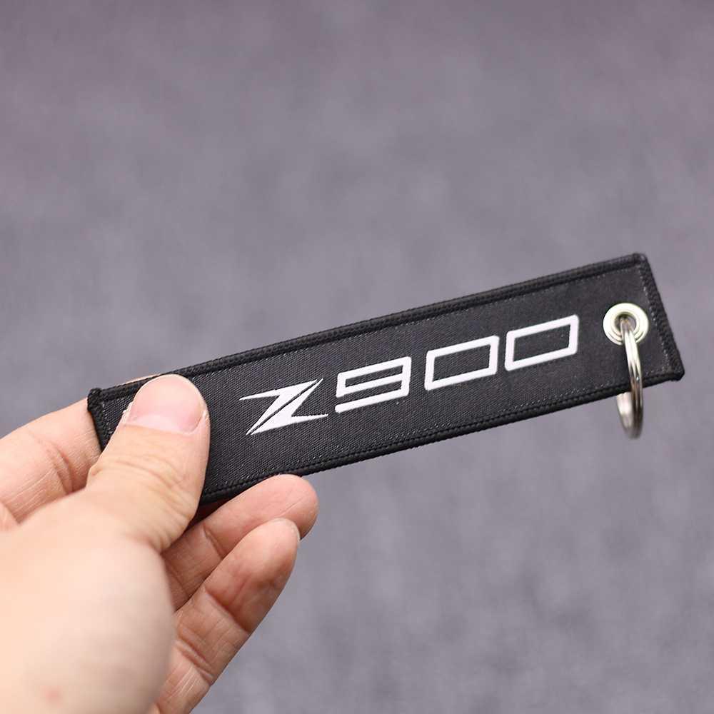 Мотоциклетный брелок с вышивкой для ключей Kawasaki Z900 Z 900 Мотоциклы Скутеры брелок