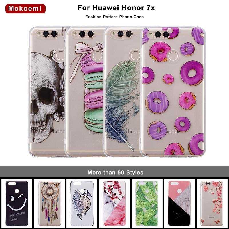 Handytaschen & -hüllen Angepasste Hüllen Mokoemi Mode Nette Luxus Weiche 5,93 für Huawei Ehre 7x Fall Für Huawei Ehre 7x Handy Fall Abdeckung