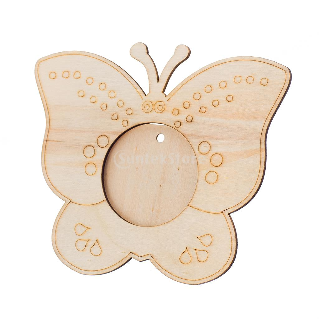 wooden butterfly photo frame diy picture frame art craftchina mainland