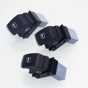 Хромированный переключатель фар + главный выключатель окна питания для VW Golf 5 6 Mk5 6 Jetta 5 6 Passat B6 Touran SEAT 5ND941431A 5ND959565B