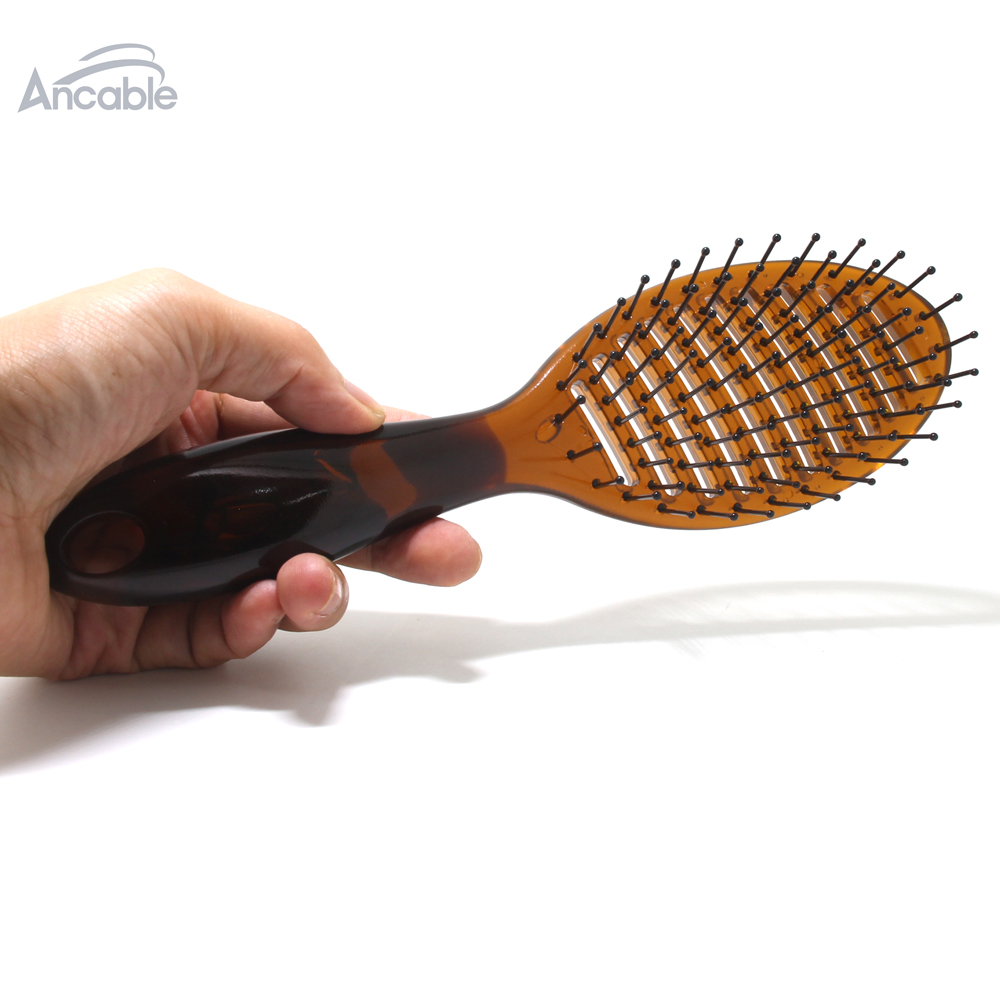 Купить с кэшбэком Vented Wet Hair Brush for Men Women Blow Speed Drying Brush after shower Shampoo for thin/thick short/long/ curly/straight hair