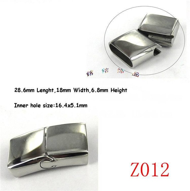 Aliexpress Z012 Magnetic Stainless Steel Leather Bracelet Clasp For Jewelry Making10sets Lot Ms1312 From Reliable Clasps Suppliers On