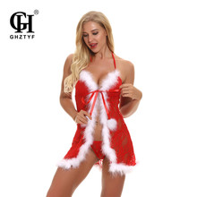 Christmas Lingerie Sexy Erotic Lingeries Women Exotic Apparel Sex Babydoll Underwear Porno Baby Doll Cosplay Plus Size Clothes