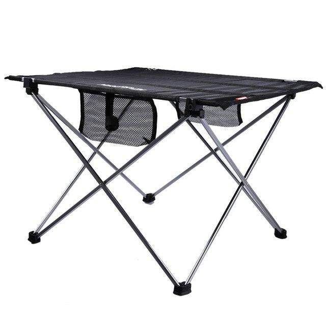Extérieur Réglable Table Pliante Portable Pique Nique Camping Pêche ...