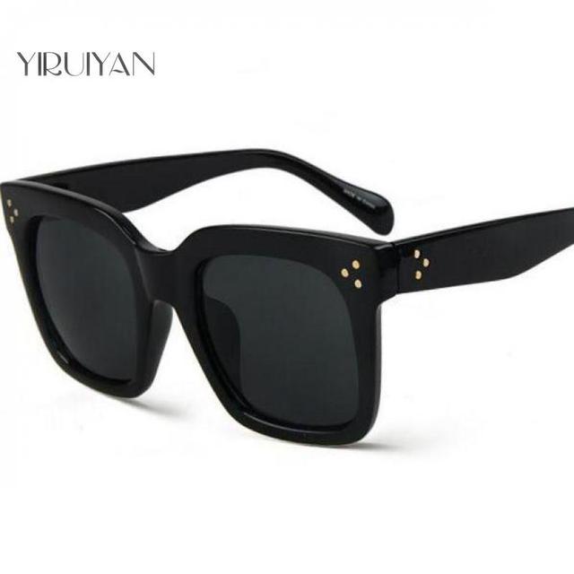 6a8087823885 5 pieces wholesale Brand Sunglasses Women Glasses Fashion Shades Male Black  Eyewear Men Points Rivet Sun glasses Oculos de sol