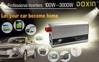 Car inverter 12V to 110V/ 24V to 220V/ Power Inverter Car 1200W sliver Car 12V to 220V/
