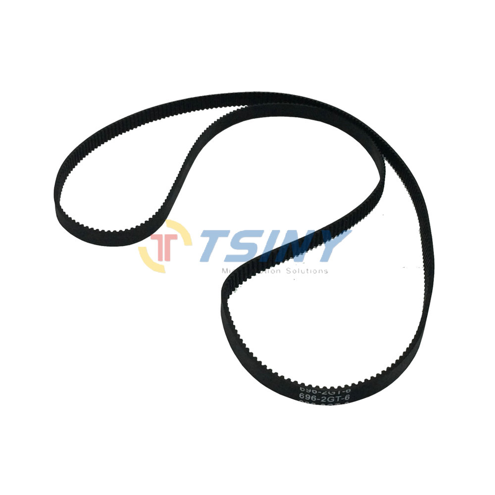 Pack of 2pcs HTD GT2 Timing Belt Closed- loop Round Rubber 2GT-696-6 Length 696mm Width 6mm Pitch 2mm Teeth Number 348Pack of 2pcs HTD GT2 Timing Belt Closed- loop Round Rubber 2GT-696-6 Length 696mm Width 6mm Pitch 2mm Teeth Number 348