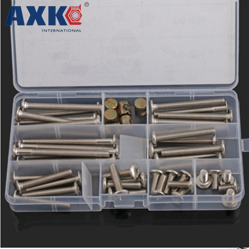 AXKM6 oblique flat head inverted Phillips screw set furniture hardware screw baby child bed accessories bedside table and chairsAXKM6 oblique flat head inverted Phillips screw set furniture hardware screw baby child bed accessories bedside table and chairs