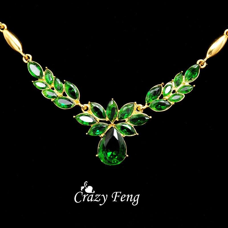 3 couleurs femmes couleur or fleur forme bijoux de fiançailles ensemble CZ cristal pendentif Collier boucles d'oreilles bijoux ensembles Collier Femme 3