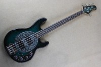 Active Pickups 9V battery Blue Burst Music Man SABRE Bass Ernie Ball Sting Ray 4 Strings Bass Electric Guitar 141111