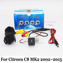 HD Высокой Четкости Камера Заднего вида Для Citroen C8 MK2 2002 ~ 2015/проводной Или Беспроводной CCD Ночного Видения Широкоугольный Объектив Камеры