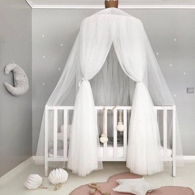 Moskitonetz Kinderzimmer | Schleier Moskitonetze Baby Bett Volant Kinder Bett Vorhang Hangen