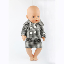 43cm Zapf Baby Born Doll Clothes All kinds of style clothes children Christmas gift free shipping the doll m29