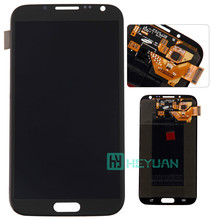 Wholesale 100% Original For Samsung Galaxy Note 2 N7100/n7105/I605/I317/T889 Lcd Display Touch Screen Digitizer freeshipping