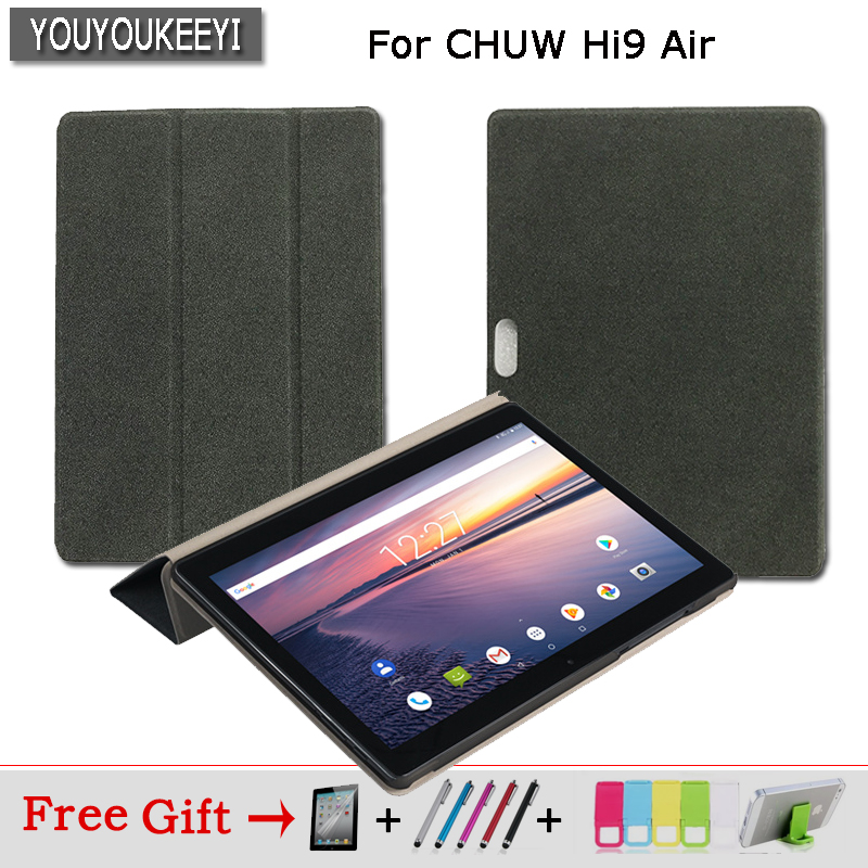 Newest Original Business Folio stand cover case For CHUWI Hi9 Air 10.1 inch Tablet +Stylus + Screen Protector