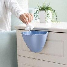 Подвесной мусорный ящик для кухонного шкафа на дверь, пластиковая мусорная корзина, 21X16X14 см, серый контейнер для мусора, бумажная корзина, горячая домашняя корзина для хранения F200