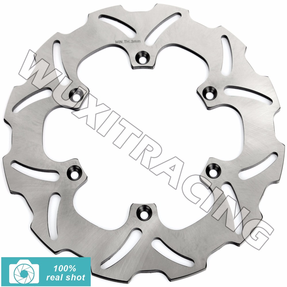 New Rear Brake Disc Rotor for SUZUKI RM 125 250 RM125 RM250 2000-2012 01 02 03 04 06 07 08 09 11 DRZ 400 SM SuperMotard 05-10 motorcycle rear brake pads kit for suzuki dr z 400 ey y ek1 ek2 k2 k3 ek3 k4 ek4ek5 ek6 ek7 2000 2007 01 02 03 04 05 06